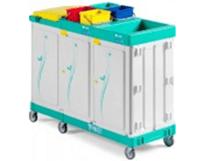 TTS-Magic-Line- 400E-Elegance-wozek-serwisowy-higieniczny-do-sprzatania-na-brudna-czysta-bielizne