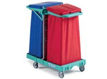 tts-magic-line-basic-30b-wozki-serwisowe-do-sprzatania-higieniczne-na-odpady-medyczne-z-segregacja-na-brudna-bielizne-na-odpady komunalne--i-smieci-elimuja-zakazenia-krzyzowe