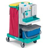 tts-magic-system 600b-wozki-serwisowe-do-sprzatania-i-do dezynfekcji-szpitalne-zamykane-eliminuja-zakazenia-krzyzowe-higieniczne-na-brudna-bielizne