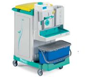 tts-magic-system 630p-professional-wozki-serwisowe-do-sprzatania-i-do dezynfekcji-szpitalne-zamykane-eliminuja-zakazenia-krzyzowe-higieniczne-na-brudna-bielizne